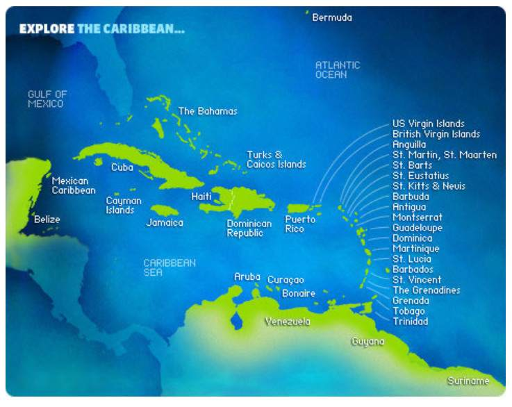 Explore The Caribbean