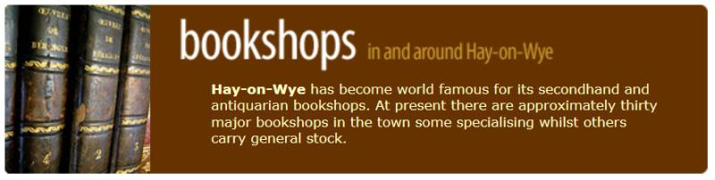 Hay on Wye - World Famous