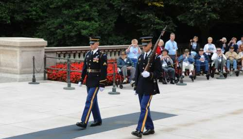 Changing Of Guard, Tomb Of Unknowns