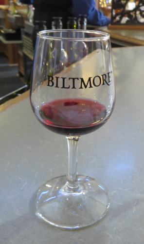 Biltmore wine, photo by Mike Keenan