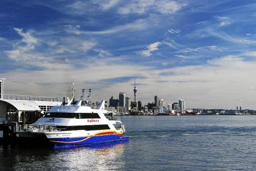 Ferry terminal at Devonport,  photo by Tourism New Zealand