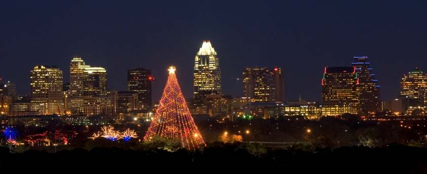 Zilker Park Christmas Tree