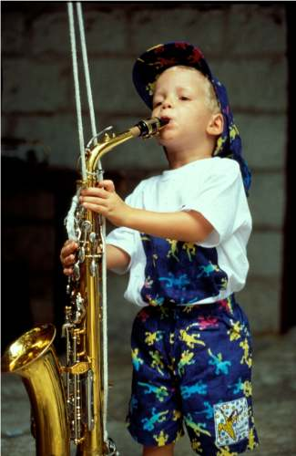 Starting Early With Sax