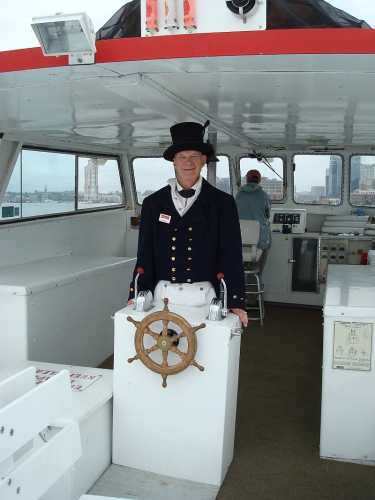 Revenue Cutter Officer on the Anthem Tour