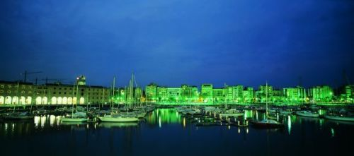 Port Vell At Night