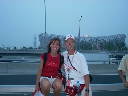 Kathy And Fred - extreme Olympic Games fans