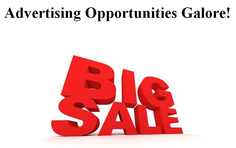 Advertising Opportunities Galore