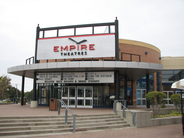 Movie theaters st catharines