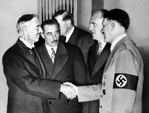 Peace in our Time - Neville Chamberlain duped by Adolph Hitler