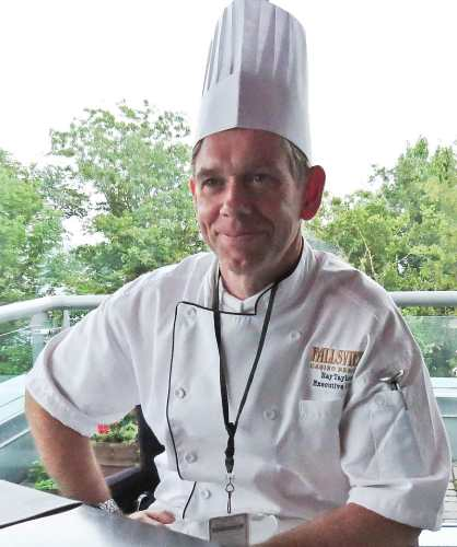 Executive Chef, Raymond Taylor, photo by Mike Keenan