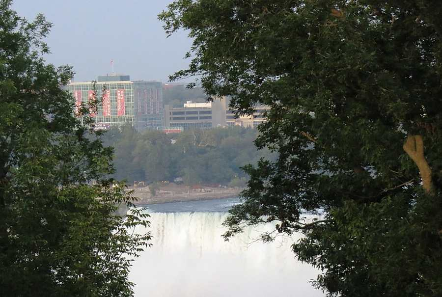 View of Falls from 21 Club, photo by Mike Keenan