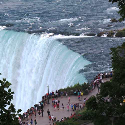 View of Canadian Falls from 21 Club, photo by Mike Keenan