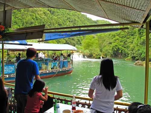 Floating Down Loboc River