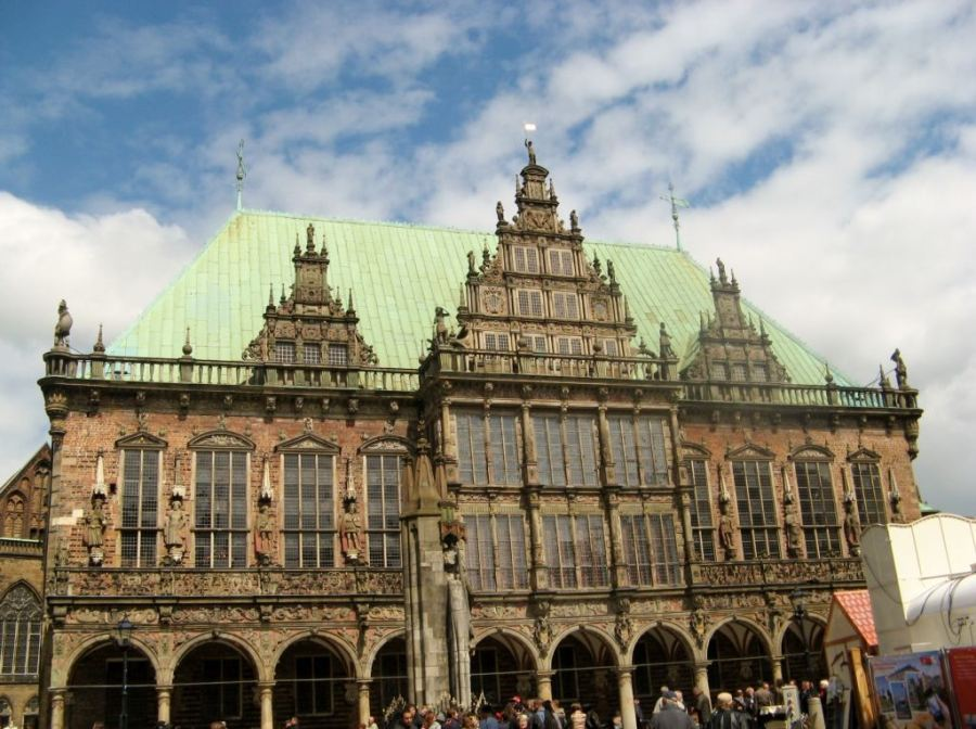 Bremen's Rathaus, town hall, is a UNESCO World Heritage site