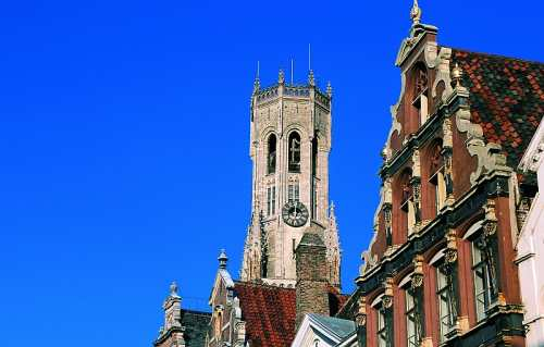 The Belfry - situated on the south side of the Markt, Brugge Tourism