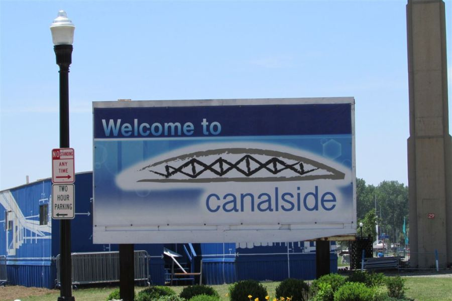 Canalside Signage