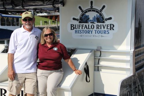 Kathy and Ric Hillman, the Spirit of Buffalo and Buffalo History Tours