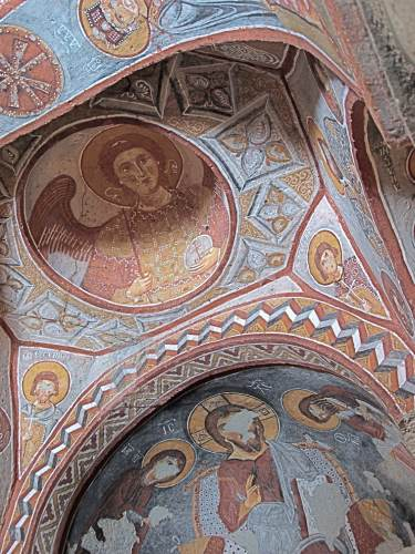 Goreme Church Fresco