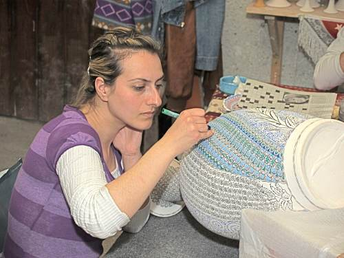 Local Artisans Employ Ancient Styles And Motifs