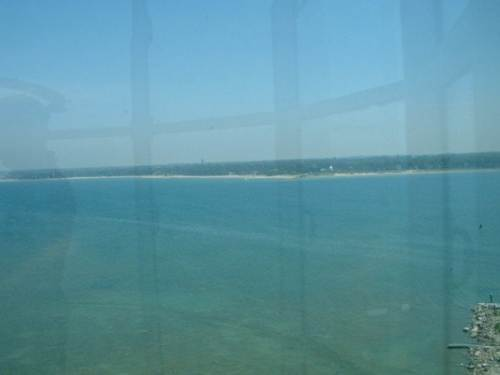 Lake Huron Shoreline from the top of Chantry Island