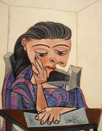 Girl Reading by Pablo Picasso, Detroit Institute of Art