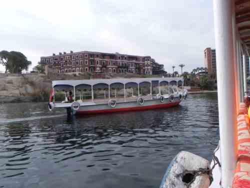 Ferrying Across The Nile - Old Cataract Hotel