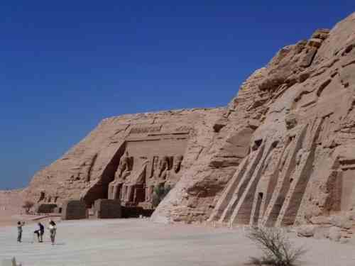 No Crowds At Abu Simbel