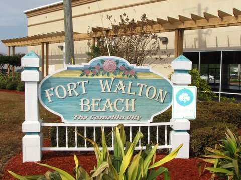 Emerald Coast, Florida - Welcome Sign