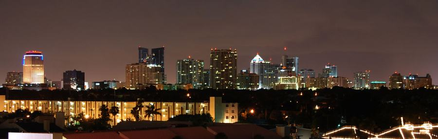Downtown Fort Lauderdale, photo by Wikimedia Commons