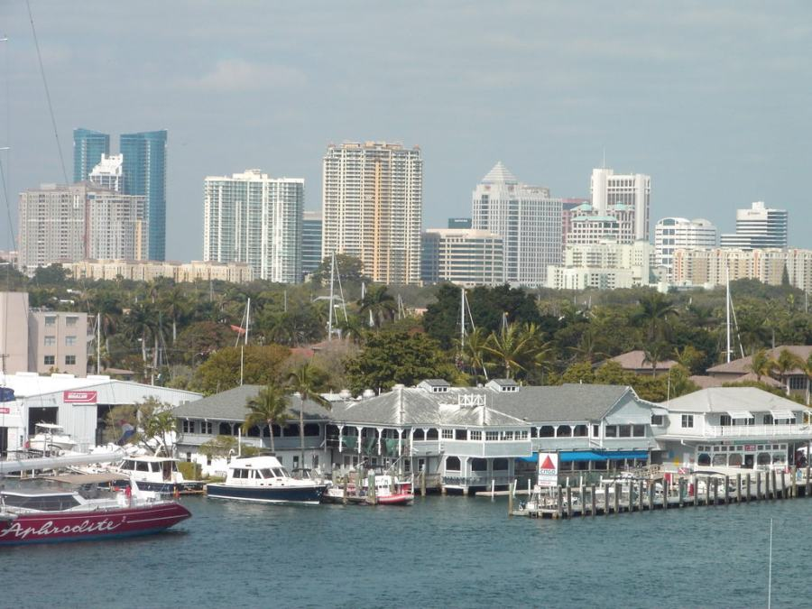 Fort Lauderdale Florida, photo by Wikimedia Commons