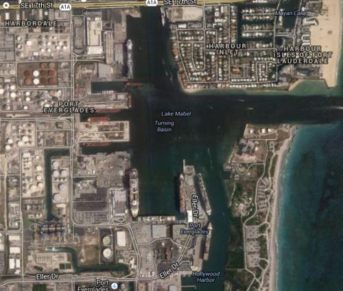 Port Everglades, photo by Wikimedia Commons