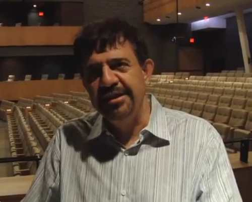 Artistic Director Alex Mustakas