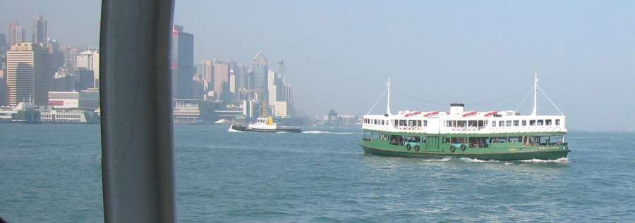 Ride The Star Ferry - Hong Kong