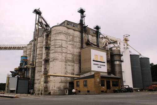Goderich Grain Elevators