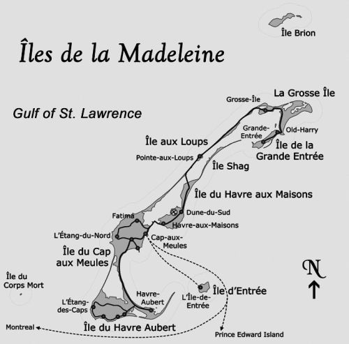 Madeleine Cruise Map