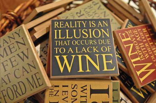 Reality & Wine, photo by Mike Keenan