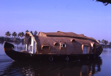 Kerala waterway barge