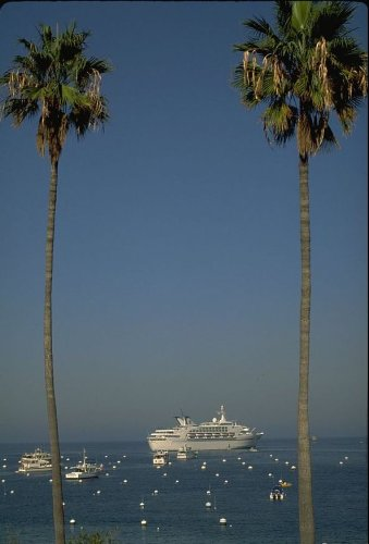 Catalina Island, Cruise Ship