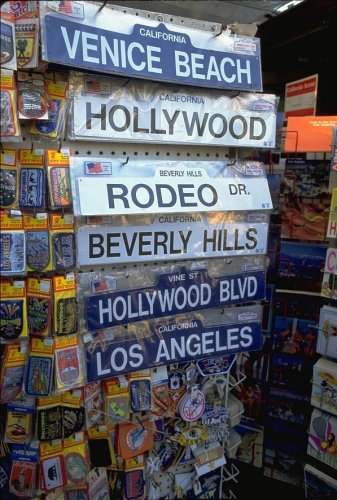 Los Angeles, famous street signs