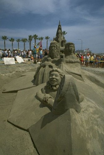 Imperial Beach, U.S. Open Sand Castle Contest, San Diego