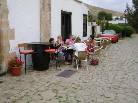 Coffee time in Bettancuria, Fuerteventura
