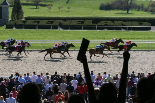 Winning At Keeneland Race Course