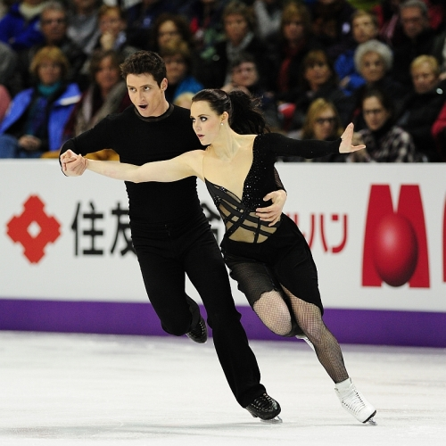 2013 World Championships-Dance Free-Virtue & Moir033 2photo by Skate Canada, Stephan Potopnyk