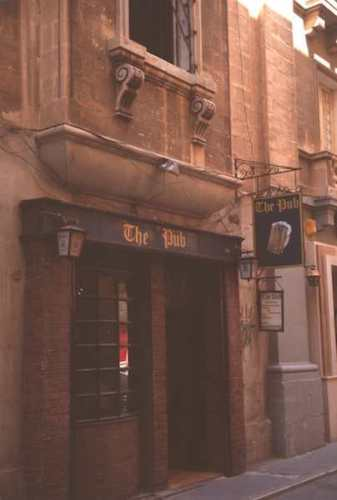 Valetta, The Pub where Oliver Reed died - Photo by Burt Fine