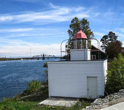 Bird-cage Lighthouse, Little Current, photo by Mike Keenan