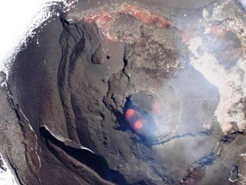 Peeping Into The Belly Of The Villarricca Volcano