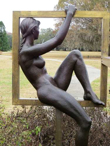 Brookgreen Gardens, The Saint James Triad by Richard Miller, photo by Mike Keenan