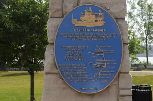 Ferry Crossing Plaque