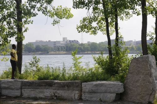 Niagara River At Buffalo