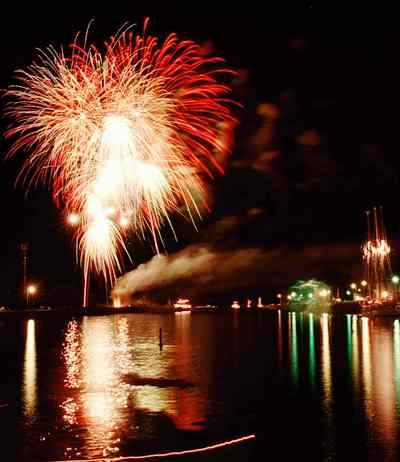Port Colborne Fireworks Display